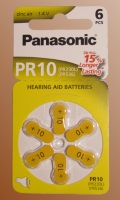 Baterie do naslouchadel Panasonic typ 10