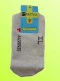 Ponožky Matex Diabetes - Béžové