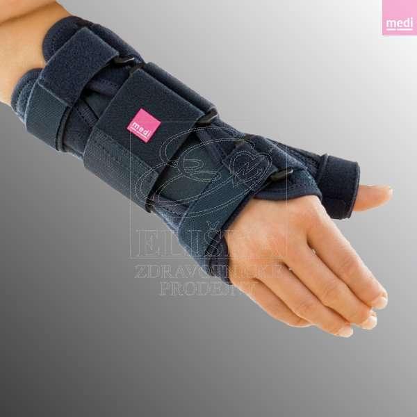 Zápìstní ortéza s fixací palce<br />Manumed T - èerná