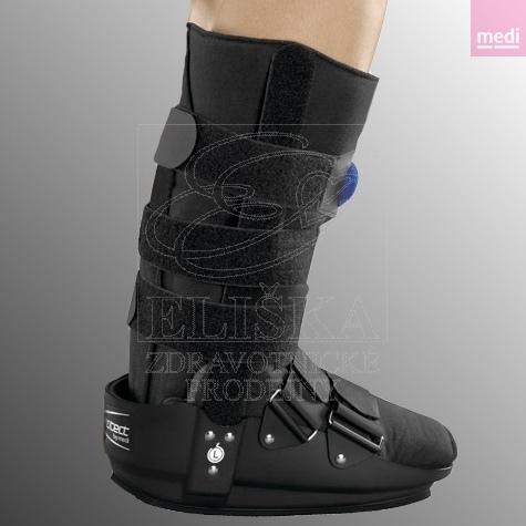 Ortéza hlezenní protect.Air Walker boot<br />Fixaèní chodicí ortéza s pøídatnou možností nafouknutí boty