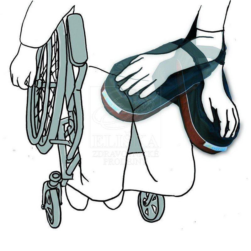 Podruèka pro hemiplegiky do vozíku P 961