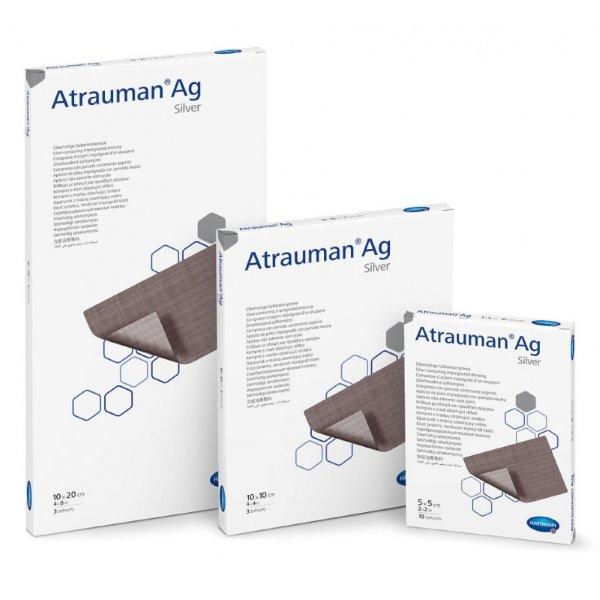 Atrauman Ag<br />Kontaktní krytí s obsahem stříbra