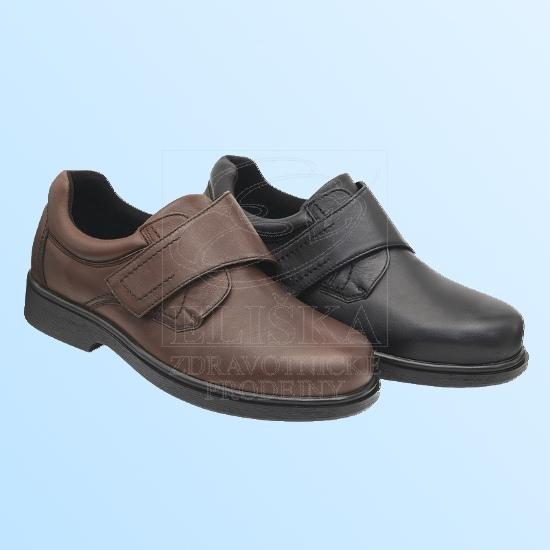Pánská diabetická obuv MEDI Paul - černá