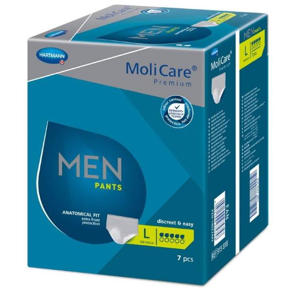 Pánské absorpční spodní prádlo<br />MoliCare Men Pants 5 kapek L