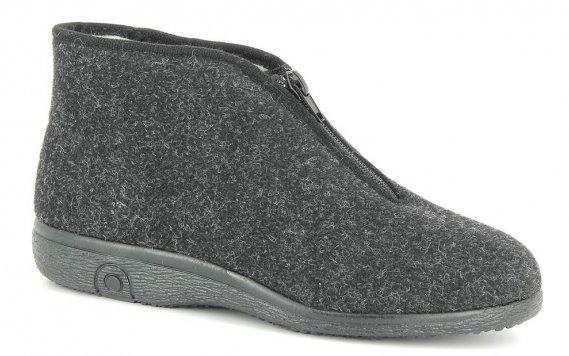 Domácí obuv Varomed 69511 Richard<br />černá