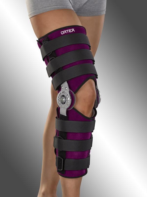 Dlaha kolenního kloubu fixační s vymezeným rozsahem pohybu<br />ORTEX 01