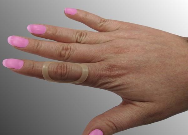 Oval-8 prstová dlažka<br /> pro fixaci a korekci malých kloubů prstů ruky