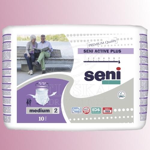 Natahovací elastické absorpční kalhotky<br />Seni Active Plus Medium