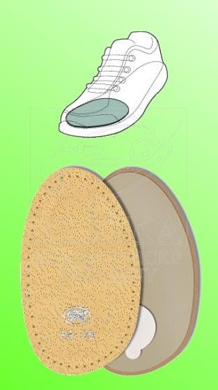002 Špičky kožené bez srdíčka