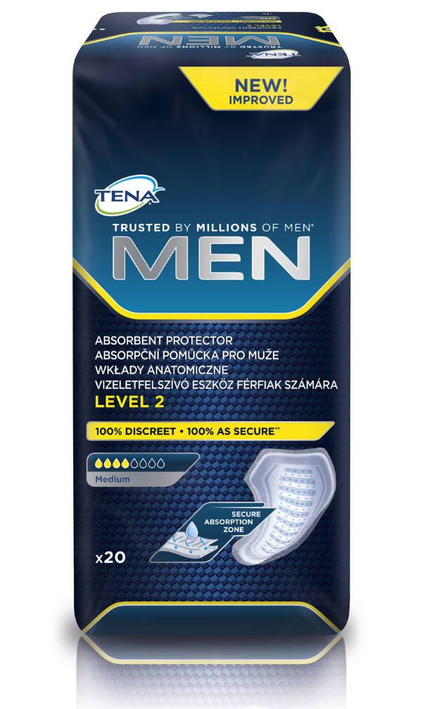 Absorpční pomůcky pro muže<br />TENA Men Level 2