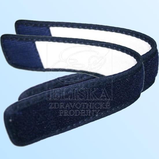 58901 Patní pásek k obuvi Varomed<br />Ibiza, Bali a Kopenhagen<br />námořnická modř