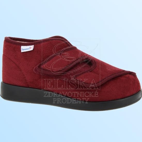 Zimní terapeutická obuv Varomed 60928 Genua<br />vínová