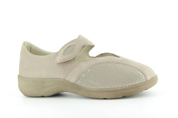 Strečová obuv Varomed 79251 Písková