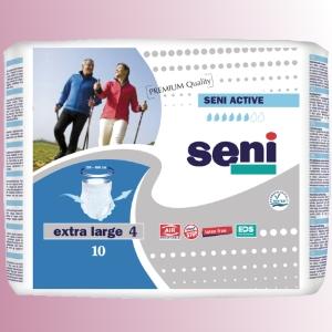 Natahovací elastické absorpèní kalhotky<br />Seni Active Premium Quality extra Large