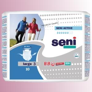 Natahovací elastické absorpční kalhotky<br />Seni Active Premium Quality Large