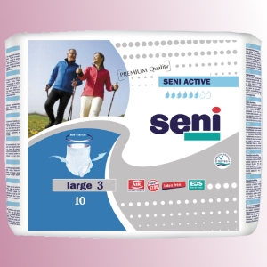 Natahovací elastické absorpèní kalhotky<br />Seni Active Premium Quality Large