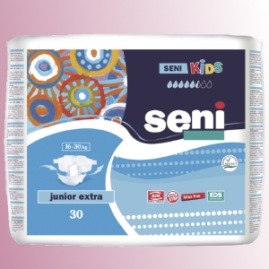 Plenkové kalhotky all-in-one<br />Seni Kids Junior Extra