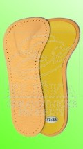 004 Vložky ortopedické 3/4 se srdíčkem