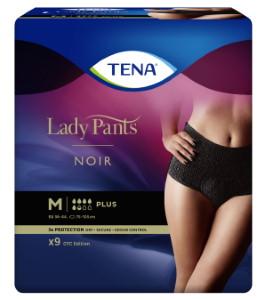 Absorpční kalhotky pro ženy<br />TENA Lady Pants Plus Noir Medium