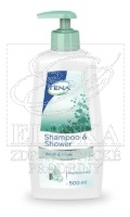 TENA Shampoo and Shower - šampon a sprchový gel