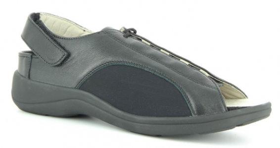 Strečové sandály Varomed 79711 Belgrad<br />černé