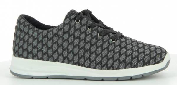 Šněrovací aktivní obuv Varomed 87160 Glenn<br />stříbrná
