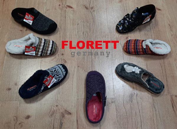 Pohodlná domácí obuv Florett