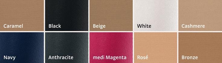 Standardní barvy pro sezónu 2018/2019